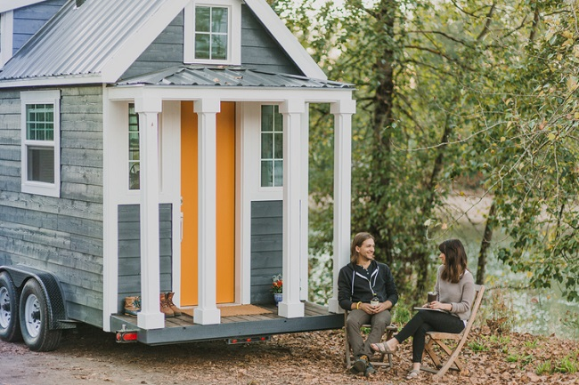 Tiny Heirloom Mobile Houses 2