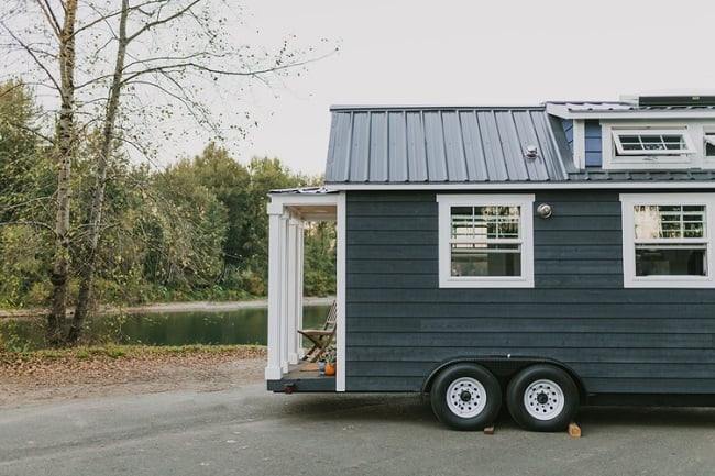 Tiny Heirloom Mobile Houses