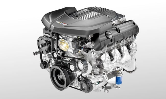 2016 Cadillac CTS-V Sedan engine
