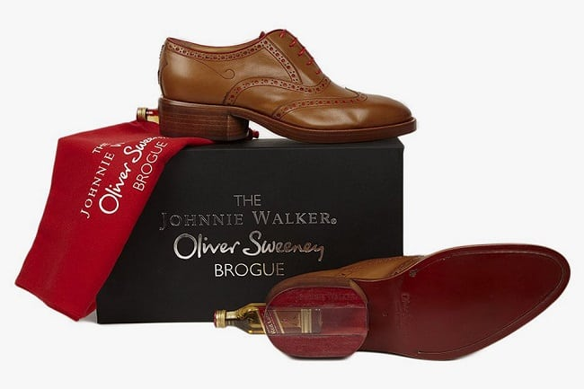 Johnnie Walker Oliver Sweeney Brogues