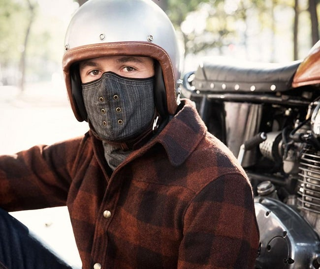 Motorcycle Neck Warmer Mask By Sankakel Men S Gear