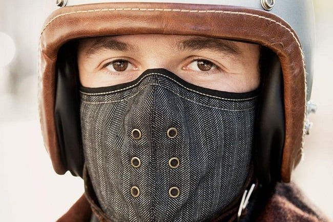 Motorcycle Neck Warmer Mask By Sankakel