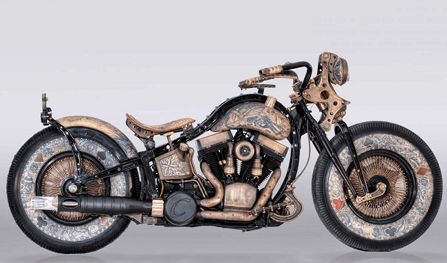 The Recidivist Tattooed Motorcycle