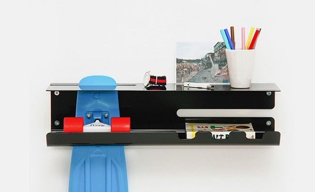 Wall Ride Skateboard Rack 7
