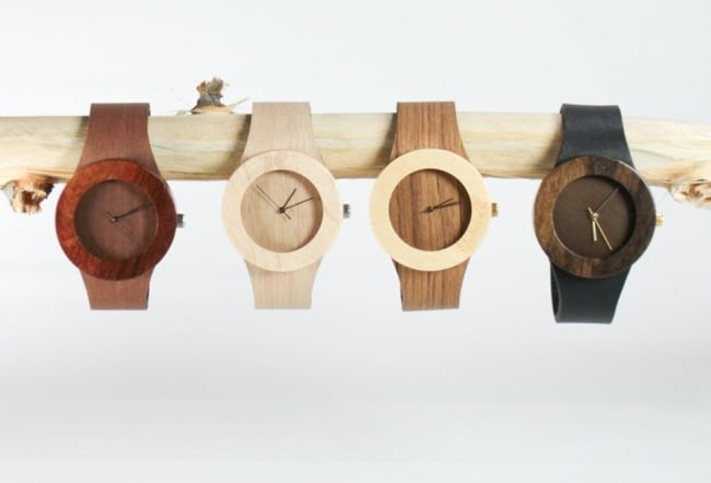 Carpenter Collection Wood Watches  (2)