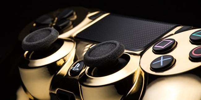 ColorWare 24K Gold DualShock 4 & Xbox One Controllers 3