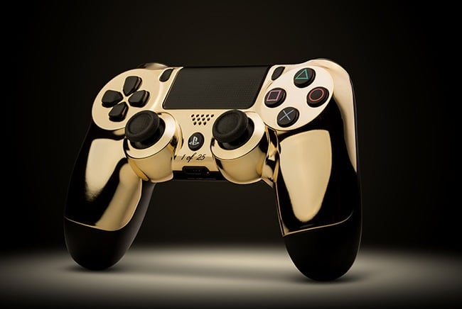 ColorWare 24K Gold DualShock 4 & Xbox One Controllers