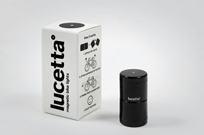 Lucetta Magnetic Bike Lights 2