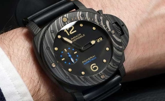 Panerai Luminor Submersible 1950 Carbotech Watch 4