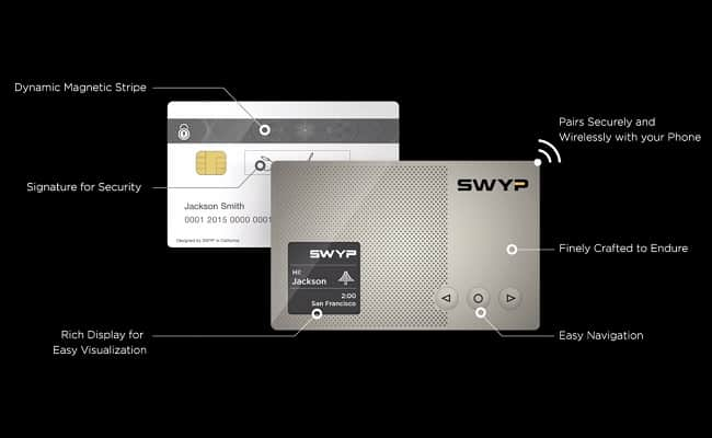 Swyp Smart Digital Credit Card 1