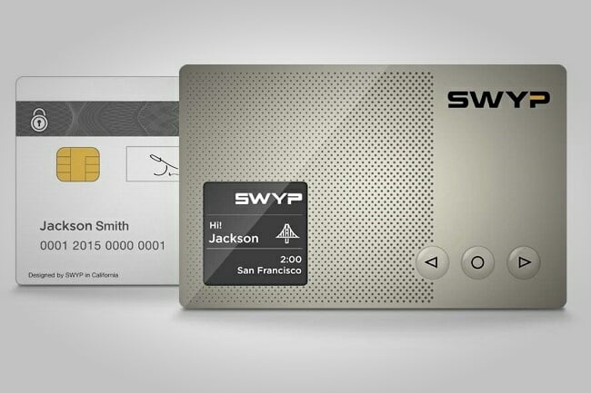 Swyp Smart Digital Credit Card 2