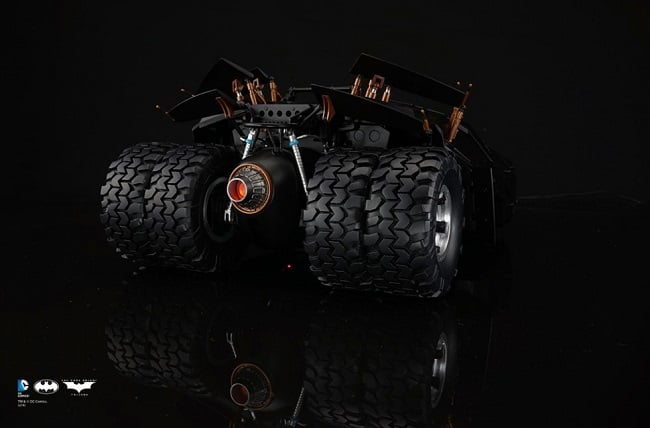 The Dark Knight Trilogy RC Tumbler 4