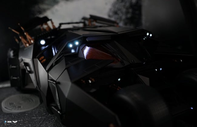 The Dark Knight Trilogy RC Tumbler 7
