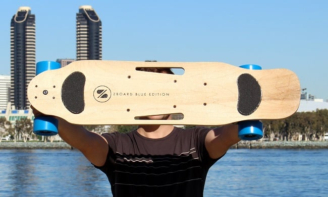 ZBoard 2 weight sensing electric skateboard 8