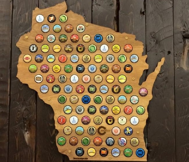 Beer Cap Maps 1