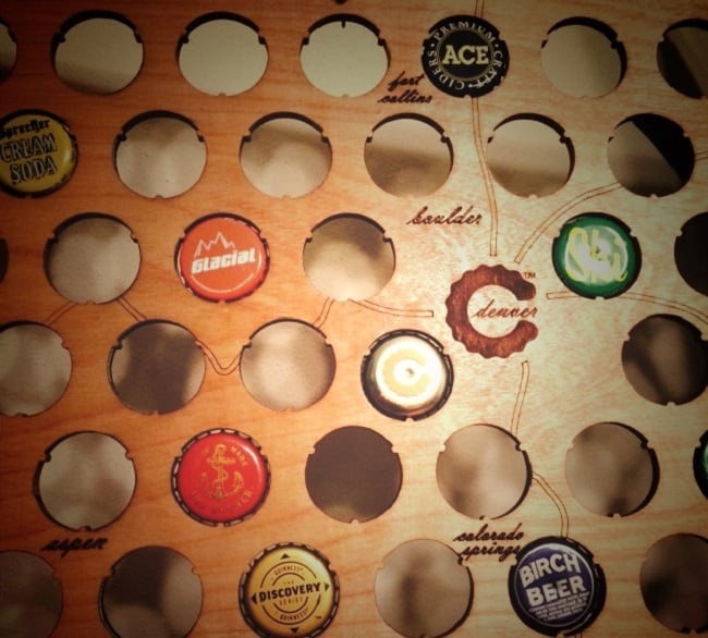 Beer Cap Maps 2