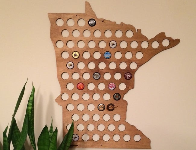 Beer Cap Maps 4