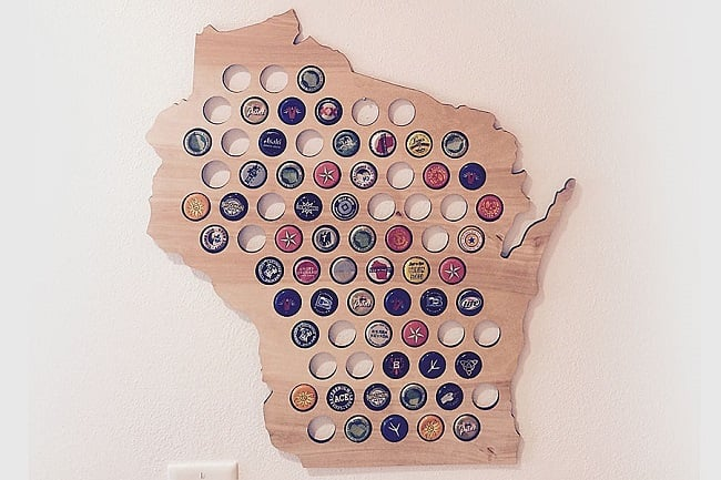 Beer Cap Maps 5