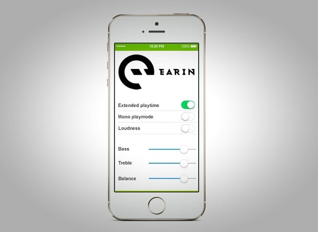 Earin Wireless Earbuds App