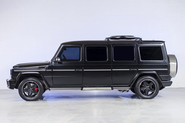 INKAS Armored Mercedes G63 AMG Limousine 1
