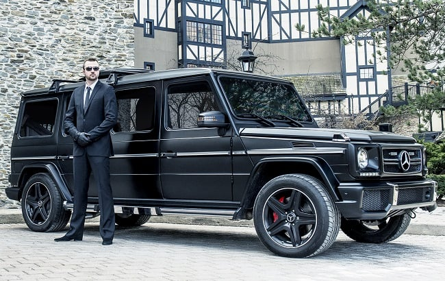 INKAS Armored Mercedes G63 AMG Limousine 3