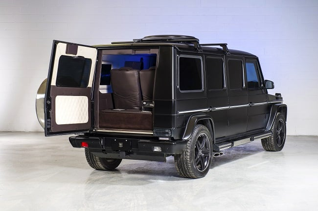 INKAS Armored Mercedes G63 AMG Limousine 4