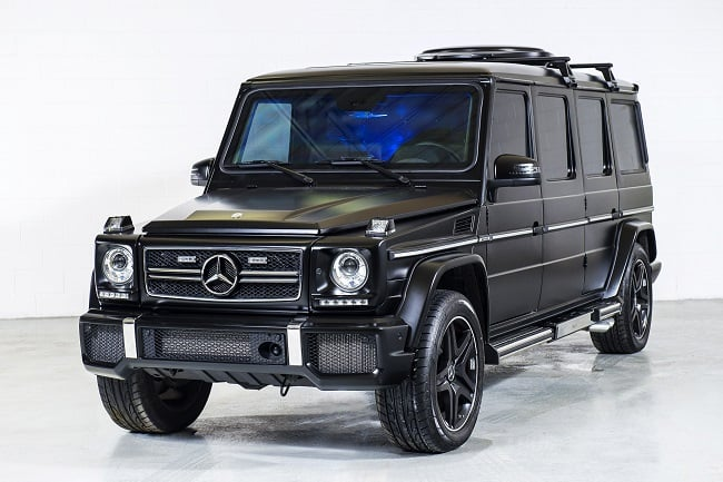 INKAS Armored Mercedes G63 AMG Limousine