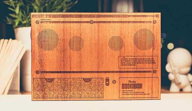 The Wooden Boombox 1