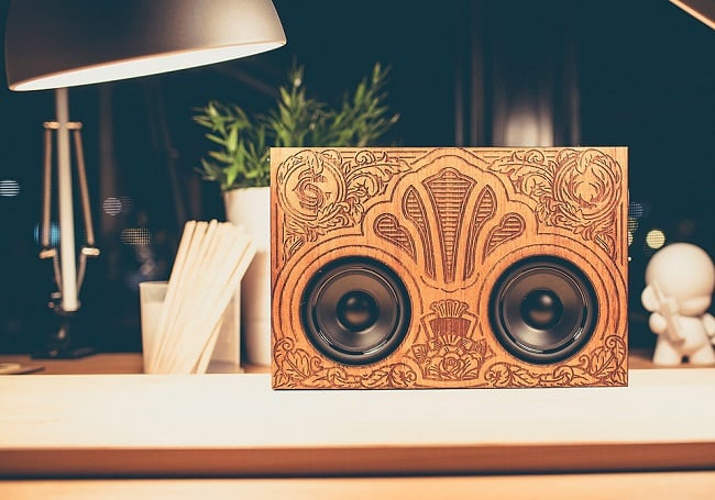 The Wooden Boombox 3