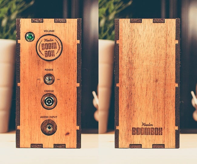 The Wooden Boombox 6