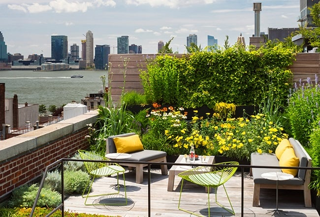 Tribeca Loft - New York City roof