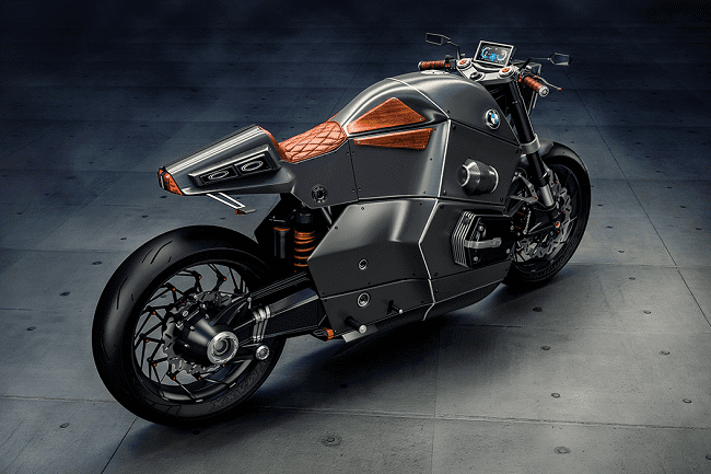 Urban Racer Concept BMW Motorcycle 3