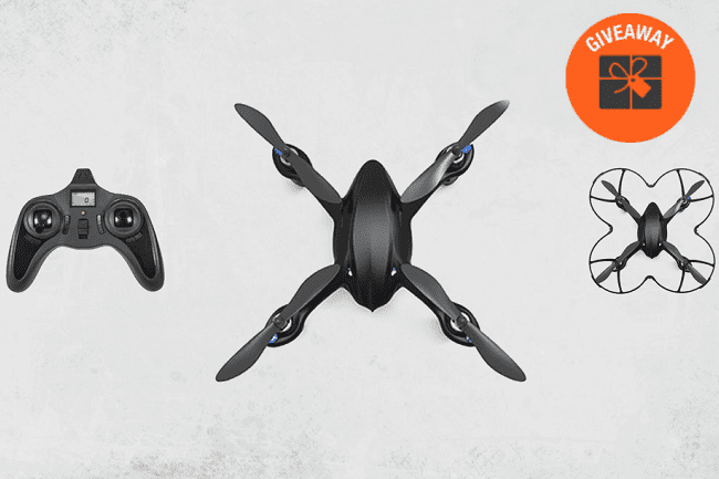 Giveaway- Code Black HD Camera Drone