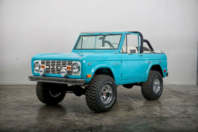 Classic Ford Broncos 9