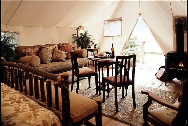 Clayoquot Wilderness Resort Family Tent