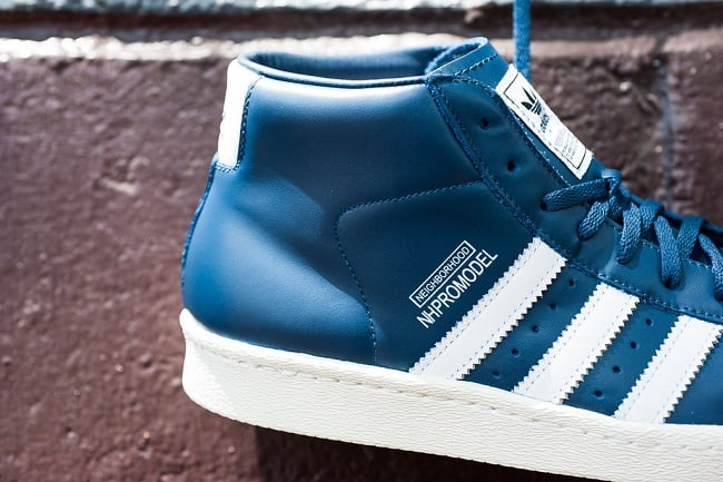 "NEIGHBORHOOD x Adidas Originals Pro Model ""Night Marine"" 1"