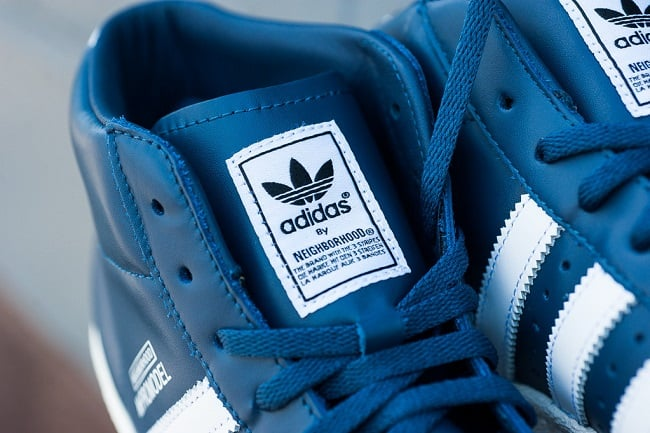 "NEIGHBORHOOD x Adidas Originals Pro Model ""Night Marine"" 3"