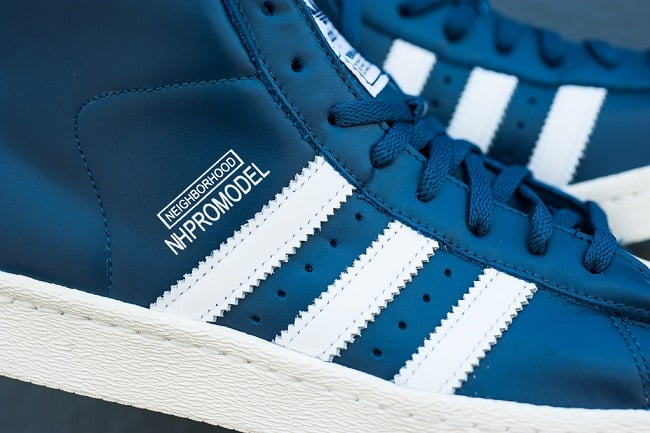 "NEIGHBORHOOD x Adidas Originals Pro Model ""Night Marine"" 4"