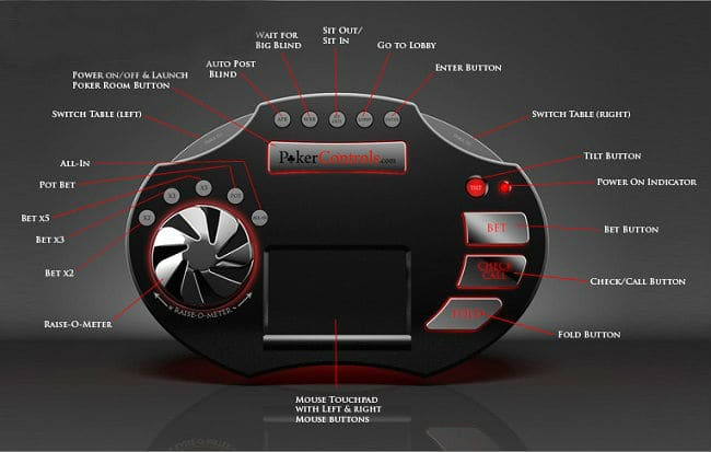 The Universal Wireless Poker Controller 3