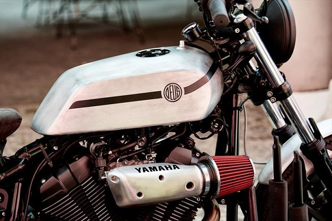 Deus Yard Built XV950 'D-Side' Motorcycle 4