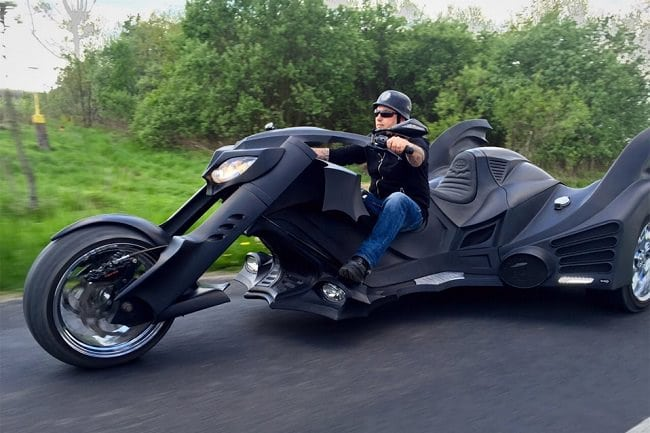 Game Over Cycles Batman Trike 10