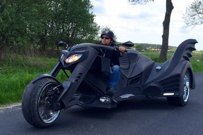 Game Over Cycles Batman Trike 11