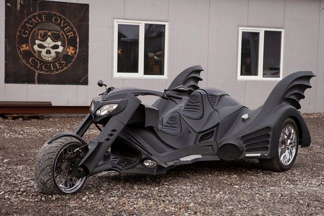 Game Over Cycles Batman Trike
