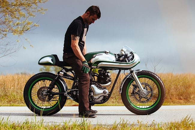 Minty Fresh Norton Commando 750 By Fuller Moto
