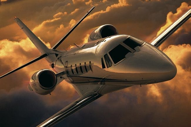 Charter-A Private Jets interior 5