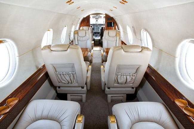 Charter-A Private Jets interior