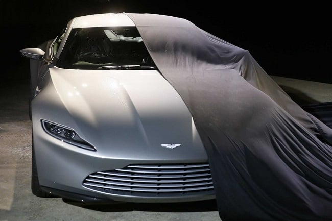 James Bond's Aston Martin DB10 c
