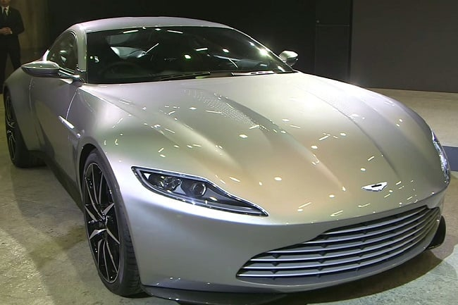 James Bond's Aston Martin DB10 d