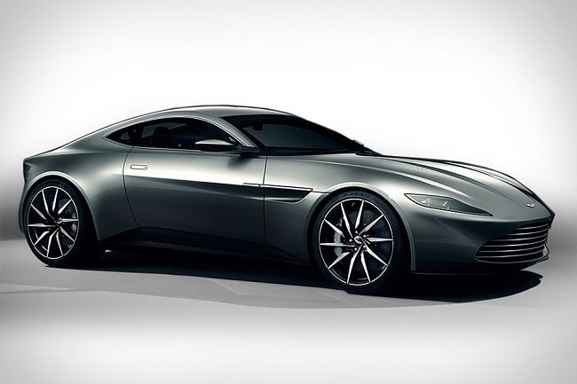 James Bond's Aston Martin DB10