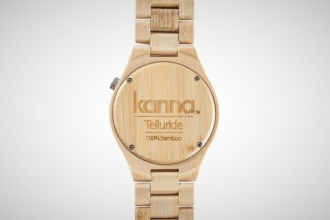 Telluride Bamboo Watch 1